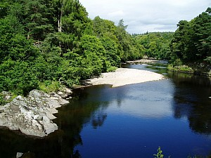 Findhorn River in July